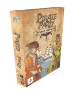 Pirate Party Women of the High Seas card game for 2-4 players from Seaport Games