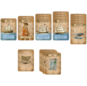 seaport solitaire set up for pirate party women of the high seas a card game for 1-4 players