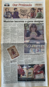 pirate party women of the high seas and seaport games featured in the peninsula daily news sunday paper PDN